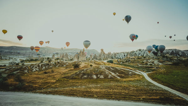 トルコはカッパドキアへの旅行