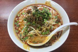 戸田 味屋ラーメンの担々麺